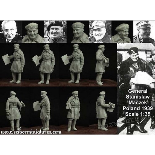 Generał Stanisław Maczek (1939) - Scibor Miniatures 35008
