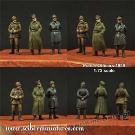 Polscy Oficerowie 1939 - Scibor Miniatures 72HM0008