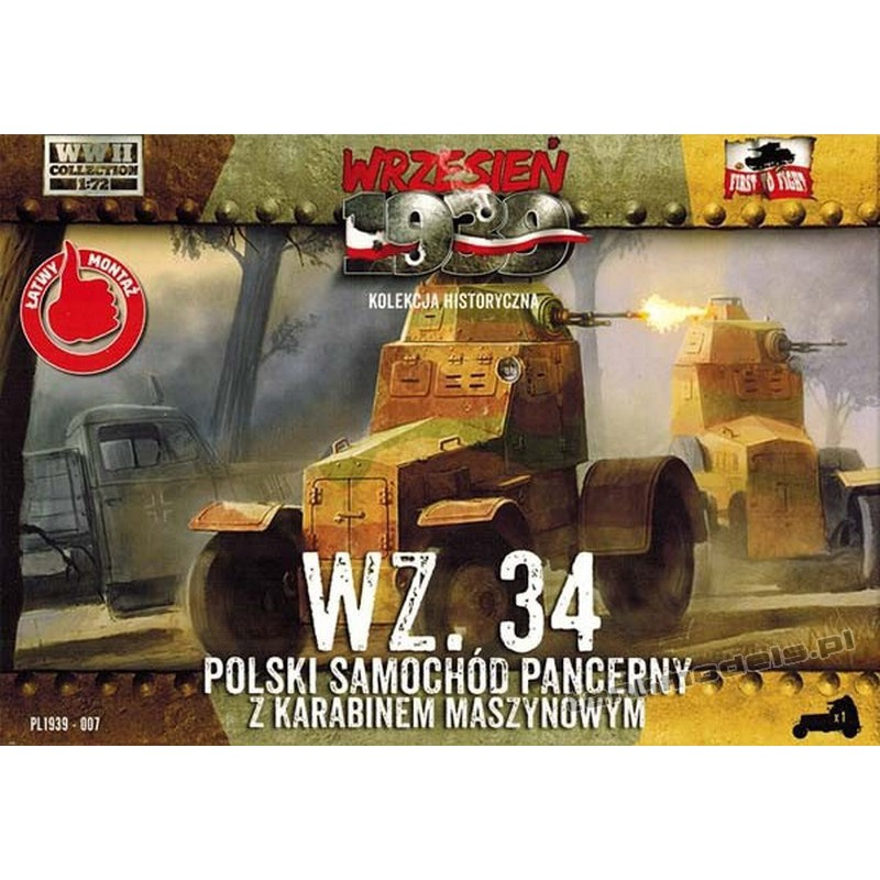 Wz. 34 armoured car - First To Fight PL1939-007