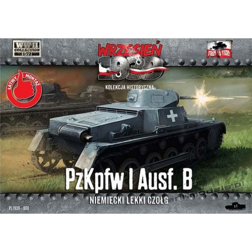 Panzer I Ausf. B - First To Fight PL1939-008