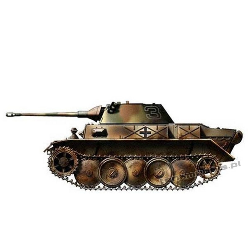 Panzer II Luchs with Puma turret - Modell Trans 72398