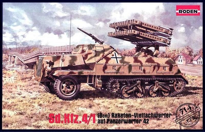 Panzerwerfer 42 Late - Roden 714