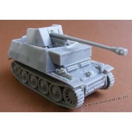 Marder II auf Panzer II D - Modell Trans 72428