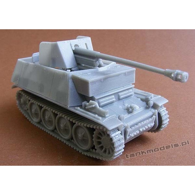Marder II auf Panzer II D - Modell Trans MT 72428