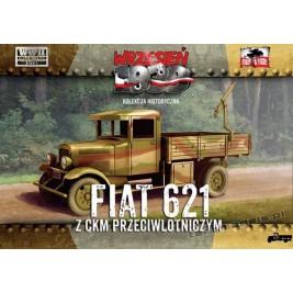 Polski Fiat 621 z karabinem maszynowym - First To Fight PL1939-17