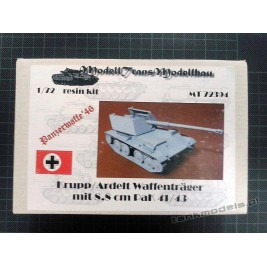 Krupp/Ardelt Waffenträger mit 8,8 cm PaK 41/43 Panzerwaffe '46 - Modell Trans 72394