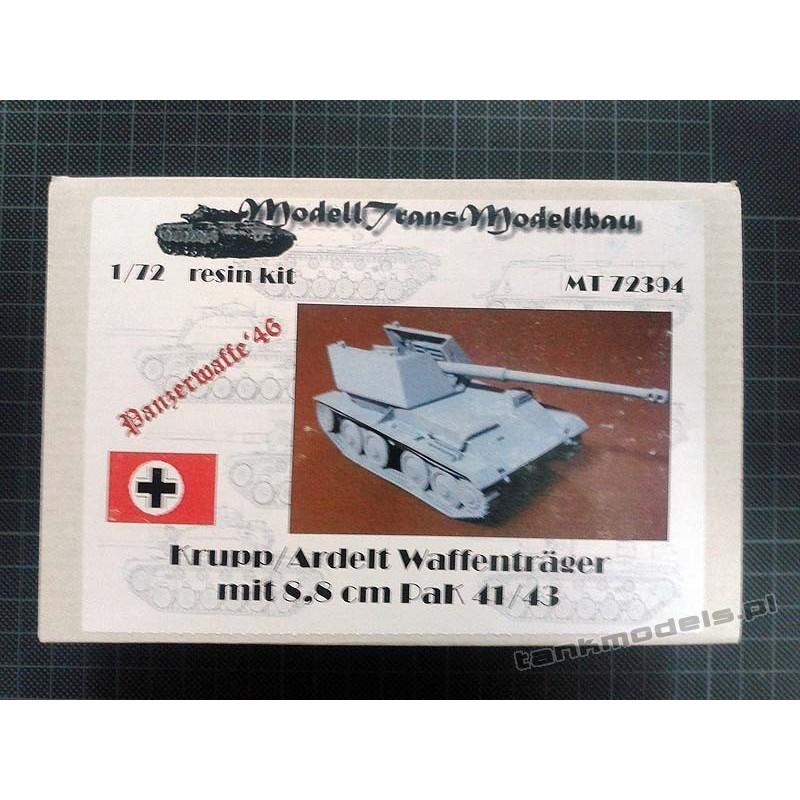 Krupp/Ardelt Waffenträger mit 8,8 cm PaK 41/43 - Modell Trans MT72394