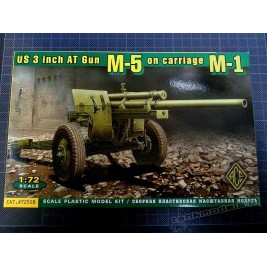 3 inch AT gun M5 (M1 carriage) - ACE 72528