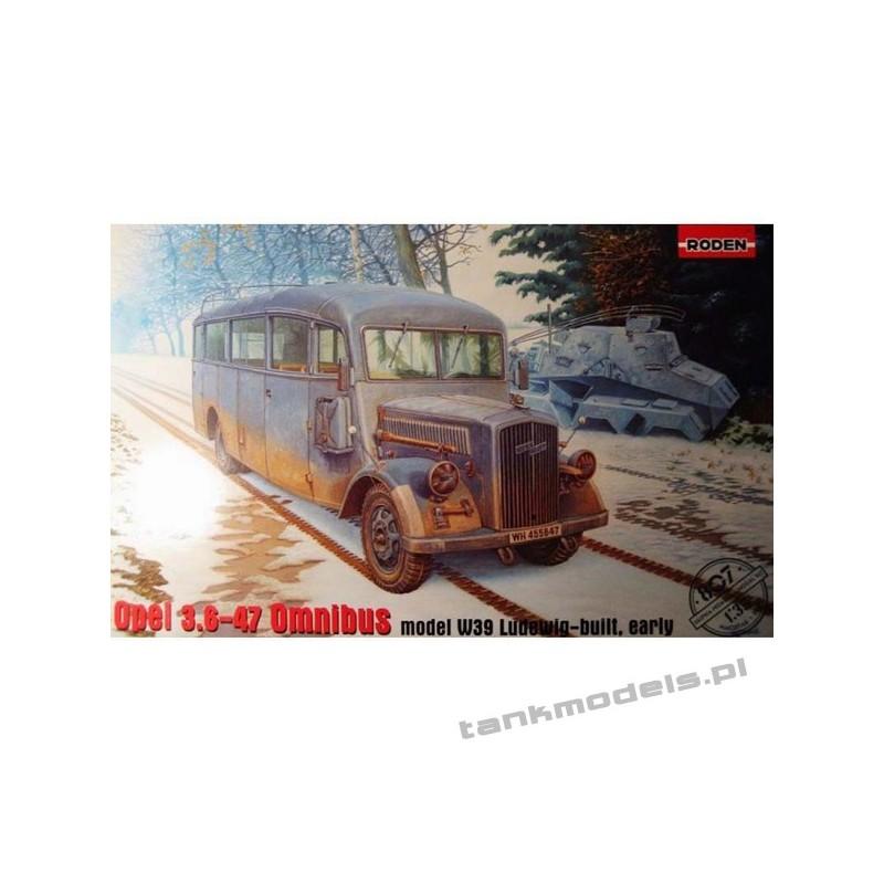 Opel 3.6-47 Omnibus model W39 Ludewig-built, early - Roden 807