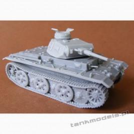 Panzer III G/H with FAMO Schachtellaufwerk Panzerwaffe '46 - Modell Trans 72418