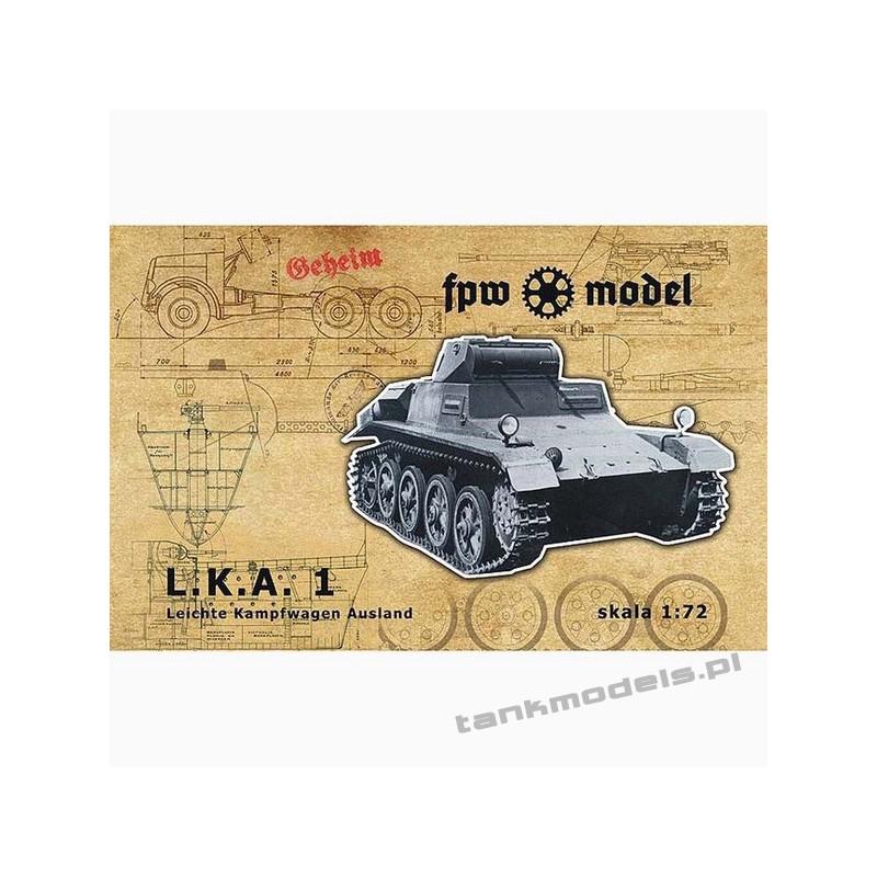 LLK 1 (Leichte Kampfwagen Ausland 1) - FPW Model 72002