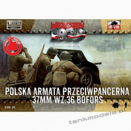 Bofors 37 mm wz. 36 Polish AT gun w/crew - First To Fight PL1939-25