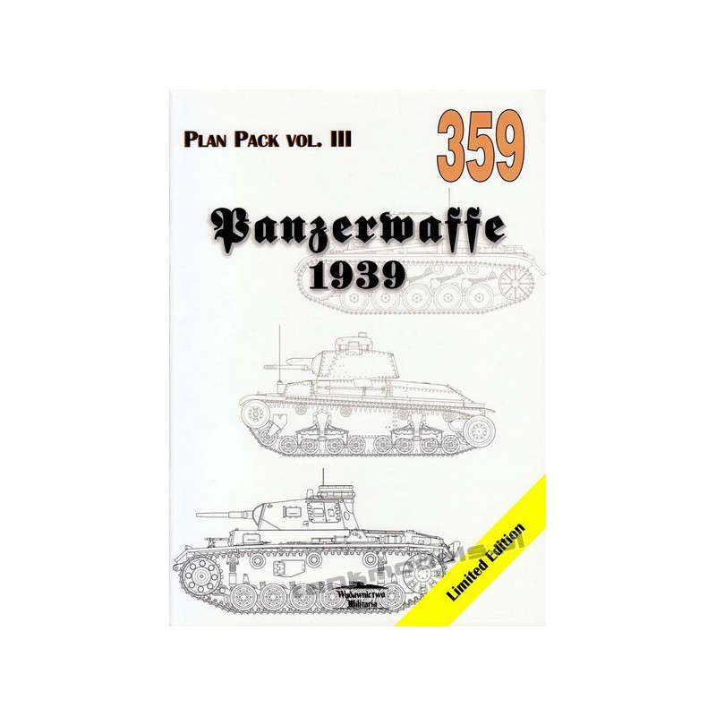 Tank Power 359 - Panzerwaffe 1939 Plan Pack III - Wydawnictwo Militaria
