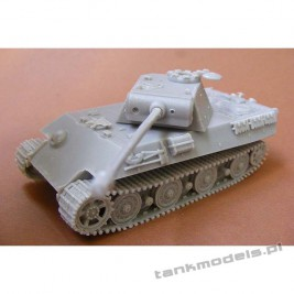 Panther II with Panther G turret (April 1945) Panzerwaffe '46 - Modell Trans 72436