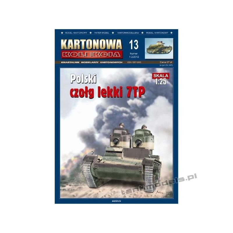 7TP (twin turret) - Kartonowa Kolekcja 13