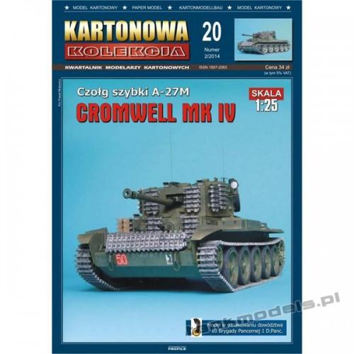 Cromwell Mk IV (10 Brygady Kawalerii Pancernej) - Kartonowa Kolekcja 20
