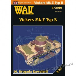 Vickers Mk.E Typ B Polish tank - WAK 2010/04