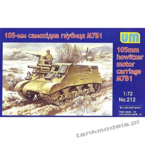 "M7B1 ""Priest"" 105mm HMC - Unimodels 212"