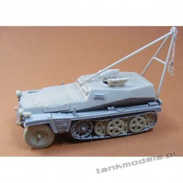 SdKfz 253 with crane - Modell Trans 72605
