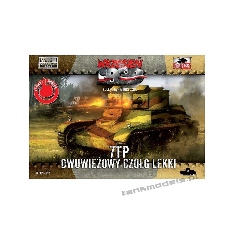 7TP (twin turret) - First To Fight PL1939-32