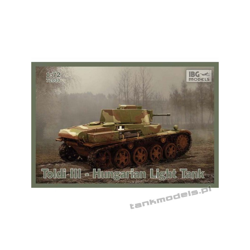 Toldi III węgierski czołg lekki - IBG 72030