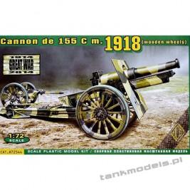 Cannon de 155 cm1918 (drewniane koła) - ACE 72544