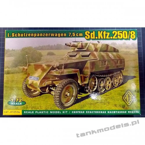 Sd.Kfz. 250/8 Stummel - ACE 72514