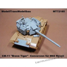 "CM-11 ""Brave Tiger"" (Taiwan M60) - Modell Trans 72185"