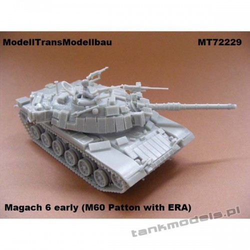 Magach 6 early (M60 with ERA) - Modell Trans 72229