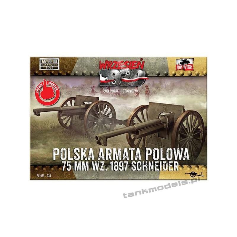 75 mm wz. 1897 Schneider - First To Fight PL1939-33