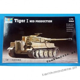 Tiger I Ausf. E Midium - Trumpeter 07243