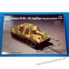 JagdTiger Sd. Kfz. 186 Henschel - Trumpeter 07254