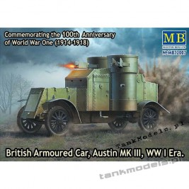 Austin Mk III British Armoured Car (WW I) - Master Box 72007