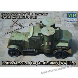 Austin Mk IV British Armoured Car (WW I) - Master Box 72008
