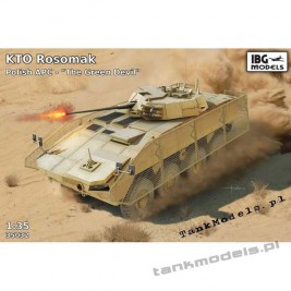"KTO Rosomak M1M Hitfist-30P turret w/RPGnet ""The Green Devil"" (ISAF) - IBG 35032"