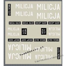 Milicja Obywatelska (PRL) - Alegratka 696