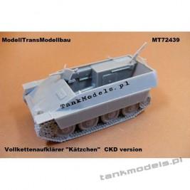 "Vollkettenaufklärer ""Kätzchen"" CKD Variante Panzerwaffe '46 - Modell Trans 72439"