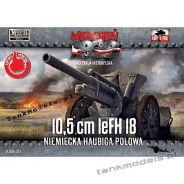 10,5cm leFH 18 Niemiecka haubica polowa - First To Fight PL1939-37
