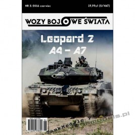 Leopard 2 A4-A7 - Wozy Bojowe Świata 2 (2/2016)