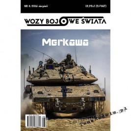 Merkawa - Wozy Bojowe Świata 4 (4/2016)