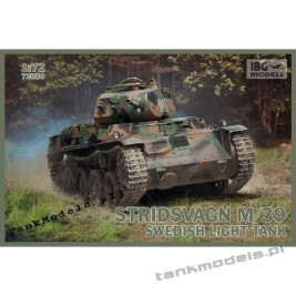 Stridsvagn m/39 Swedish light tank - IBG 72034