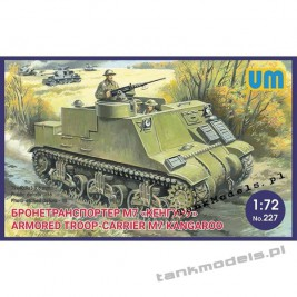 M7 Kangaroo Armored Troop-Carrier - Unimodels 227