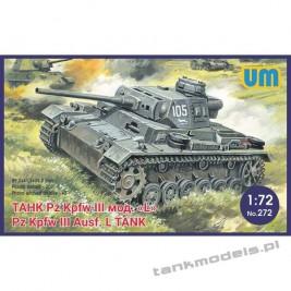 Panzer III Ausf L witch schurzen - Unimodels 272