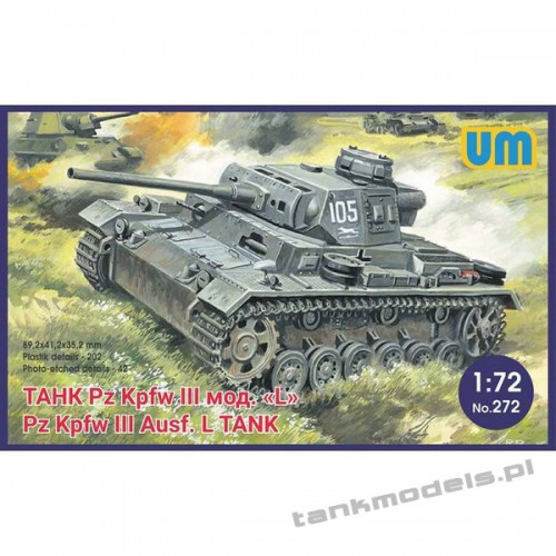 Panzer III Ausf L witch protective screen - Unimodels 272
