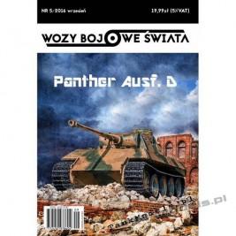 Pantera Ausf. D - Wozy Bojowe Świata 5 (5/2016)