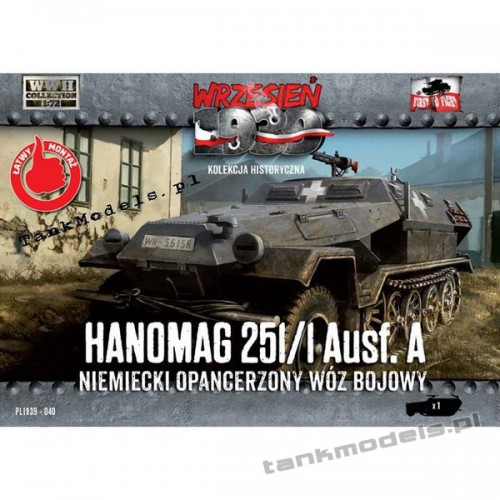 Sd.Kfz. 251/1 Ausf. A (Hanomag) - First To Fight PL1939-40