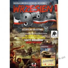 Historyczna gra bitewna : Wrzesień 1939, tom 1 - First To Fight