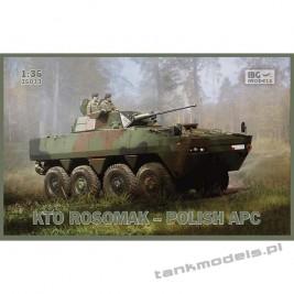KTO Rosomak 8x8 z wieżą Hitfist-30P - IBG 35033
