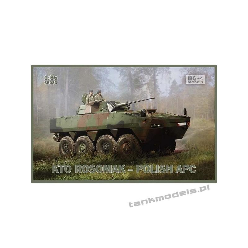 Polish APC Rosomak 8x8 with Hitfist-30P turret - IBG 35033