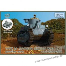 TYPE 89 KOU japoński czołg średni (wczesny) - IBG 72037